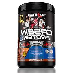 Six Star Pro Nutrition Elite Protein Casein Protein, Triple