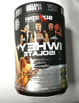 Six Star Whey Isolate Plus Protein Powder, 100% Whey Protein