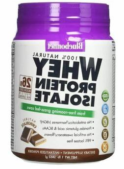 Bluebonnet Nutrition Whey Protein Isolate Chocolate Flavor