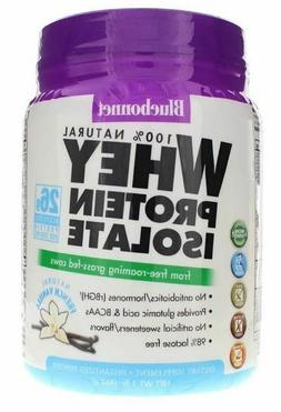 Bluebonnet Nutrition Whey Protein Isolate Natural French Van
