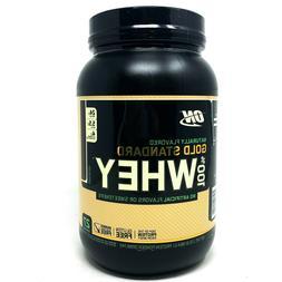 Optimum Nutrition ON Gold Standard 100% Whey Protein Powder
