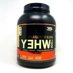 Optimum Nutrition ON Gold Standard Whey Protein Powder 5LB P