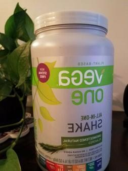 Vega One Unsweetened Natural Protein powder 30.4 oz