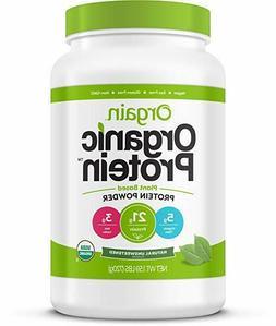 Orgain Organic Plant Based Protein Powder, Natural Unsweeten