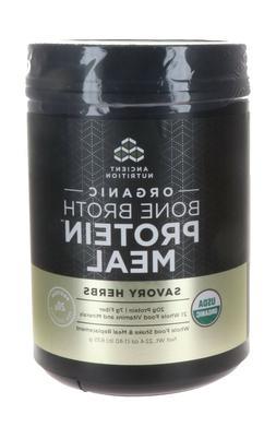 Ancient Nutrition Organic Bone Broth Protein Savory Herbs 45