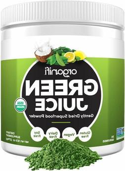 Organic Green Juice Superfood Powder Dietary Supplement Clea