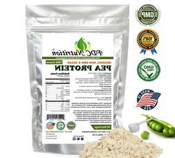 Organic Pea Protein Powder - Vegan -NON-GMO -HIGH PROTEIN  2