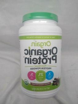 Orgain Organic Plant Based Protein Powder, 1 LB - Chocolate