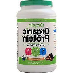 Orgain Organic Plant Based Protein Powder, Chocolate Peanut