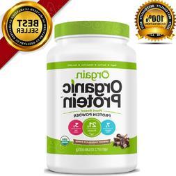 organic plant based protein powder creamy chocolate