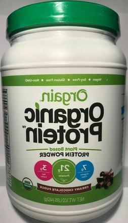 Orgain Organic Plant Based Protein Powder, Creamy Chocolate