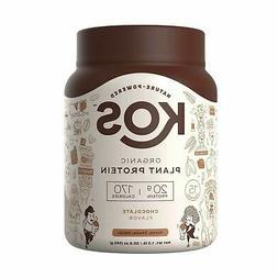 KOS Organic Plant Based Protein Powder Delicious Chocolate N