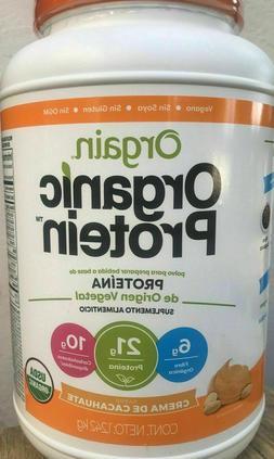 Orgain Organic Plant Based Protein Powder Peanut Butter 2.74