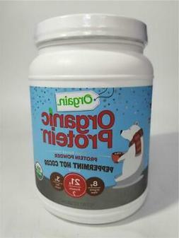 Orgain Organic Plant Based Protein Powder, Peppermint Hot Ch