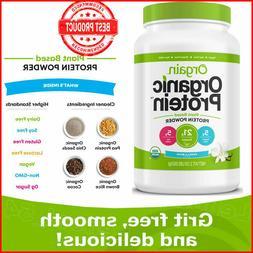 Orgain Organic Plant Based Protein Powder, Vanilla Bean - Ve