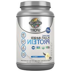Sport Organic Plant-Based Protein Vanilla Garden of Life 806