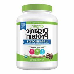Orgain Organic Plant-Based Protein Powder, Creamy Chocolate