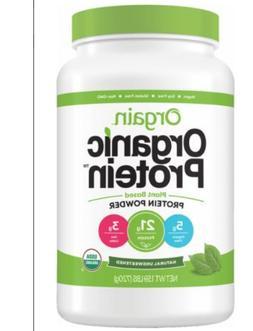 Orgain Organic Plant Protein Powder 1.59 Lbs