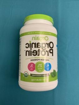 Orgain Organic Protein 1.59 lbs Plant Based Powder Natural U