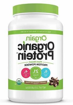 Orgain Organic Protein Powder - Creamy Chocolate Fudge- 2 lb