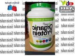 Orgain Organic Protein Powder Natural Vegan, Low Net Carbs,V
