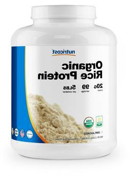 Nutricost Organic Rice Protein Powder 5lbs  - Certified USDA