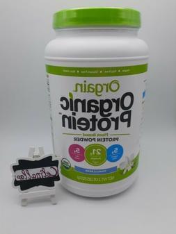 Orgain Organic Sweet Vanilla Bean Protein Powder - 2.03 lbs.
