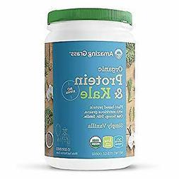 Organic Vegan Protein & Kale Powder: 20g of Plant Based Prot
