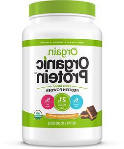 Orgain Organic Vegan Protein Powder 2.03 lbs CHOCOLATE PEANU