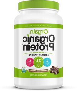 Orgain Organic Vegan Protein Powder, Chocolate, 21g Protein,