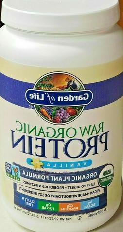 Garden of Life-Organic Vegan Raw Protein Powder-Vanilla-27 S