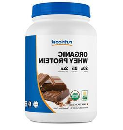 Nutricost Organic Whey Protein Powder  2 LBS - Non-GMO