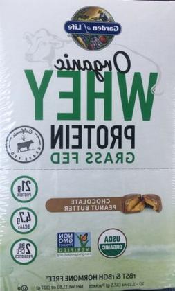 Garden of Life Organic Whey Protein Powder, Chocolate Peanut
