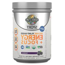 Garden of Life Sport Organic Pre Workout Energy Plus Focus V