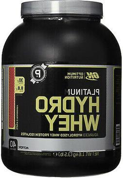 Optimum Nutrition Platinum Hydrowhey, Red Velvet Cake, 3.5 P