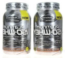 MuscleTech Platinum 100% ISO Whey Supplement, Peanut Butter