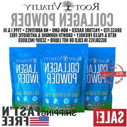 Root Vitality Collagen Powder, Premium Quality Collagen Prot