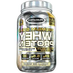 MuscleTech Premium Gold 100% Whey Protein Powder Ultra Fast