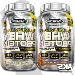 PREMIUM GOLD 100% WHEY PROTEIN POWDER MUSCLETECH Peptides &