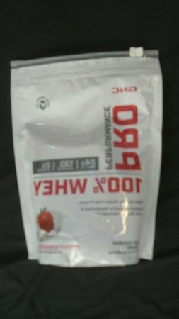 GNC Pro Performance 100% Whey Protein Powder Strawberry 14.3