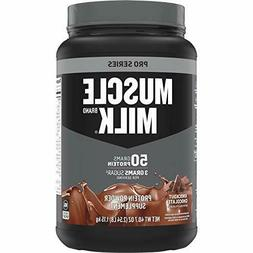 Muscle Milk Pro Series Protein Powder, Knockout Chocolate, 5