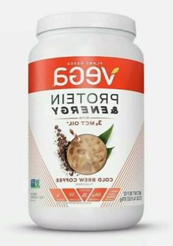 Vega Protein Energy Powder Mix +3g MCT Oil COLD BREW COFFEE