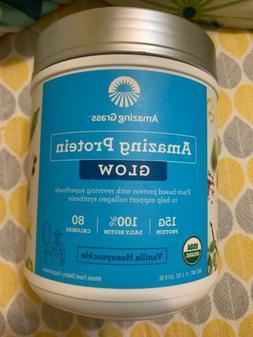 Amazing Grass Protein Glow 11.1 Oz Vanilla Honeysuckle