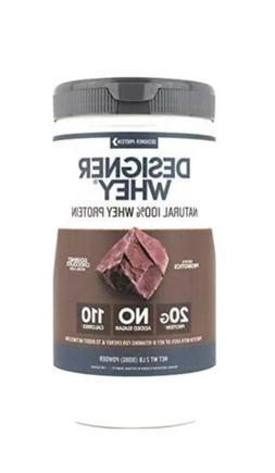 Designer Whey Protein Powder Chocolate - 2 lbs