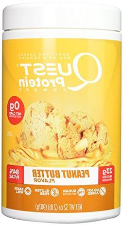 Quest Nutrition Protein Powder, Peanut Butter, 32 oz