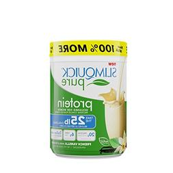 SLIMQUICK Pure Protein Powder with Low Calorie Dietary Suppl