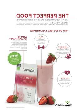 Isagenix Protein Shake Strawberry Cream Sachet 60g Weight Lo