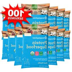 AMAZING GRASS Protein Superfood **100 Pouches!**