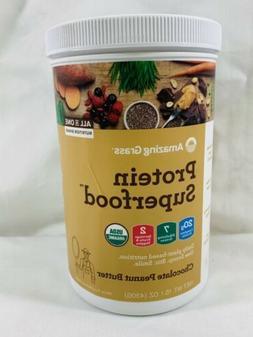 Amazing Grass Protein Superfood Powder Chocolate Peanut Butt