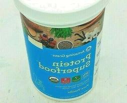 Protein Superfood Pure Vanilla Amazing Grass 12.2 oz Powder